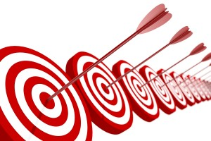 Priority targets for goal setting
